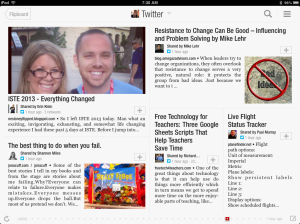 View Your Twitter Feed through Flipboard