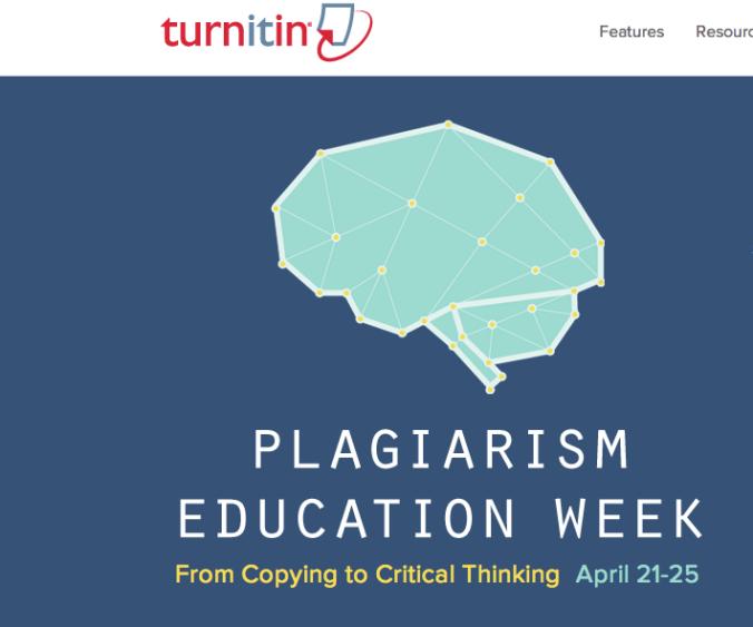 Plagiarism Week